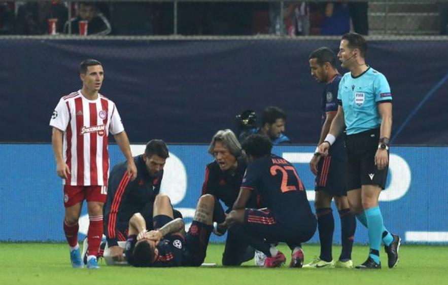 Tersi i dëmtimeve të rënda, Bayern humbet një tjetër mbrojtës
