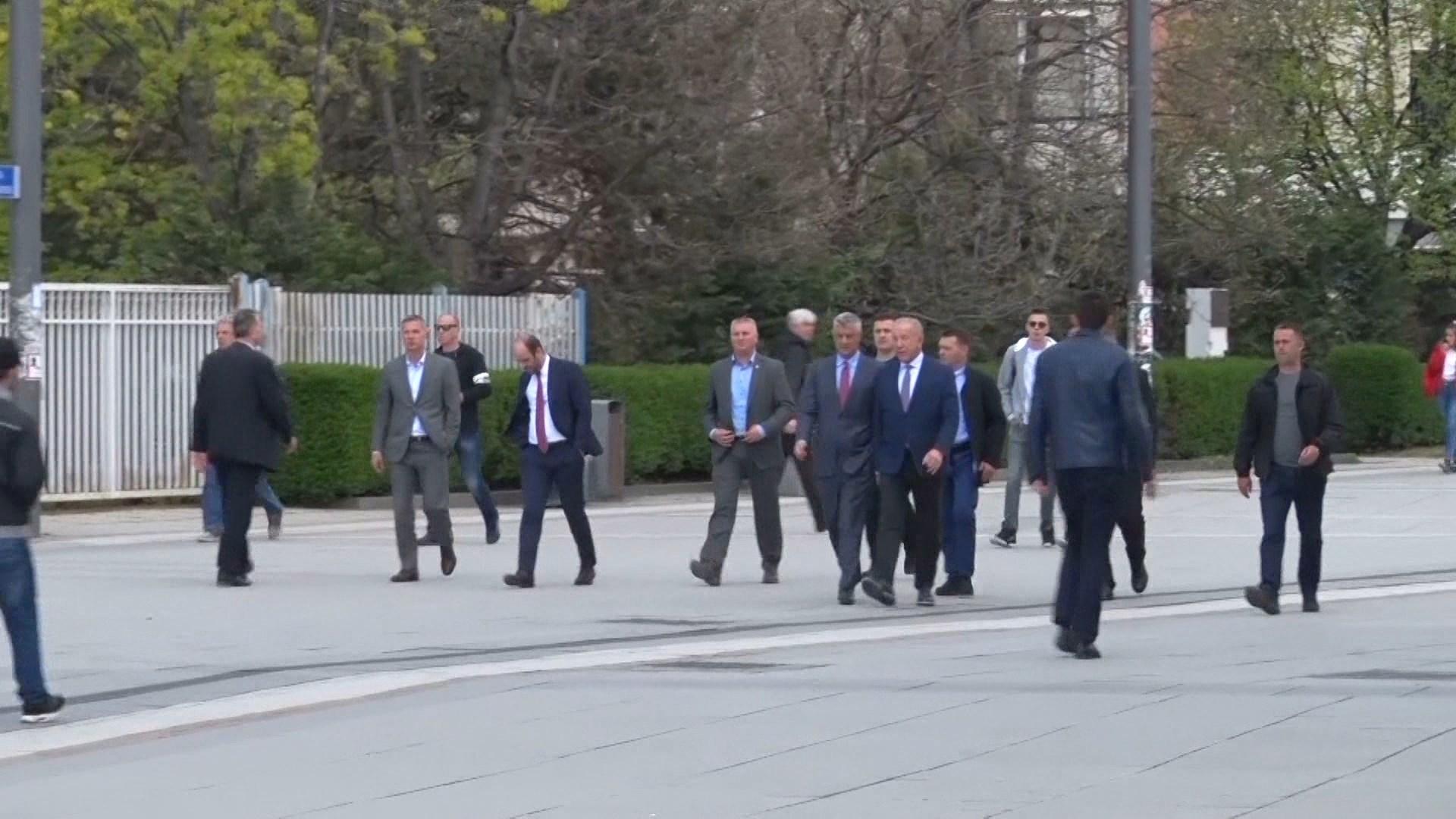 Zgjedhjet në Kosovë, Thaçi mbledh krerët e Sigurisë dhe Drejtësisë