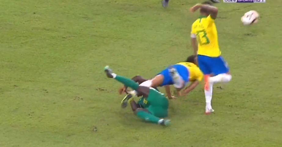 VIDEO   Mane bën lëmsh mbrojtjen, Senegali befason Brazilin