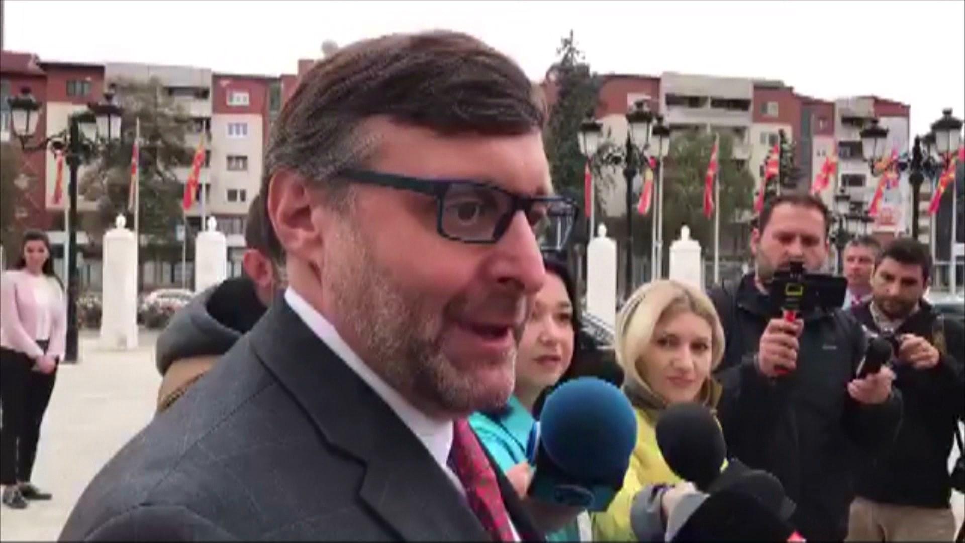 Palmer në Shkup: Marrëveshja e Prespës, thelbësore për paqen dhe stabilitetin në Ballkan