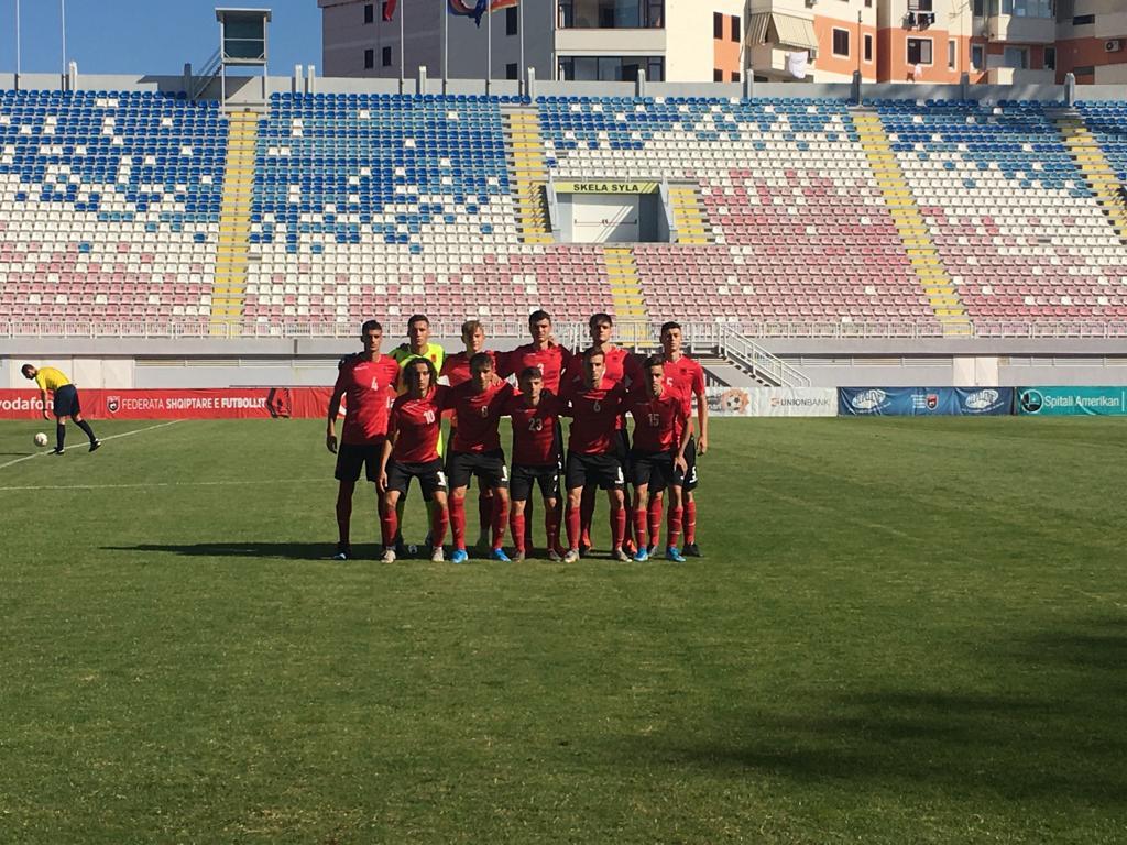 Shqipëria U-17 e nis mbarë, fitore bindëse ndaj Malit të Zi