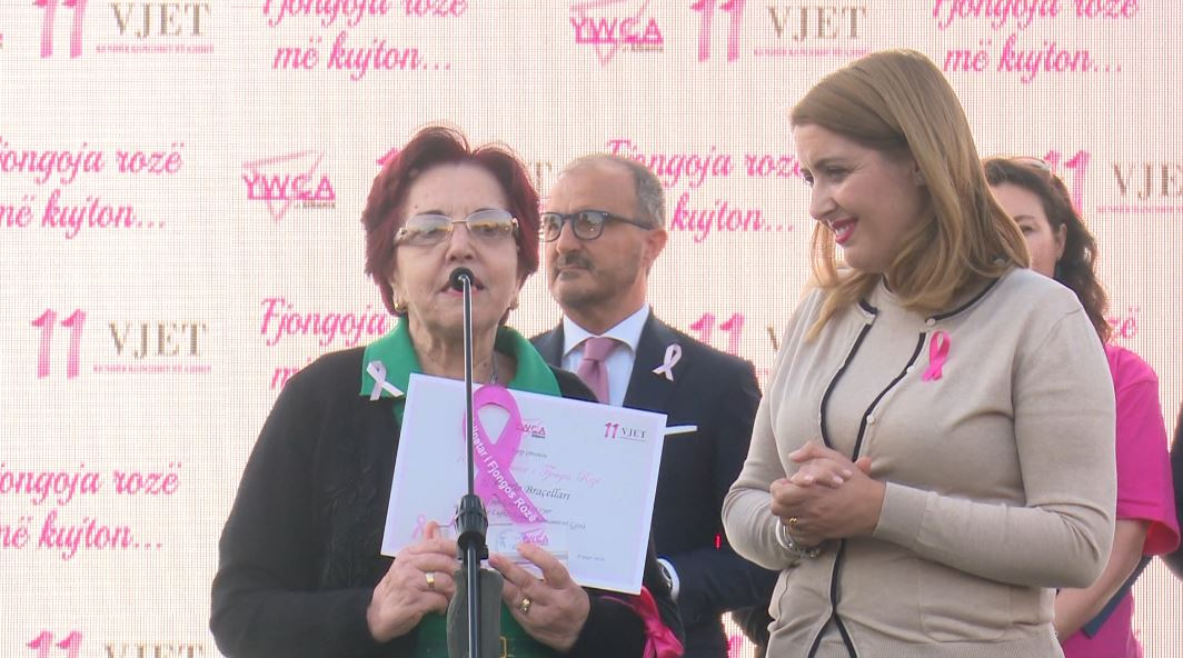Tetori muaji i sensibilizimit për kancerin e gjirit, marshim në Tiranë