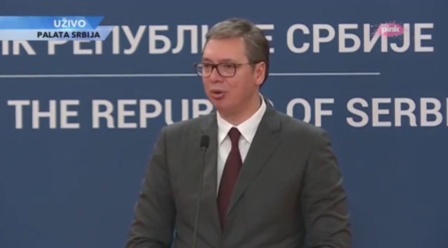 Aleksandër Vuçiç shpall fitoren e listës serbe: Fitore historike!