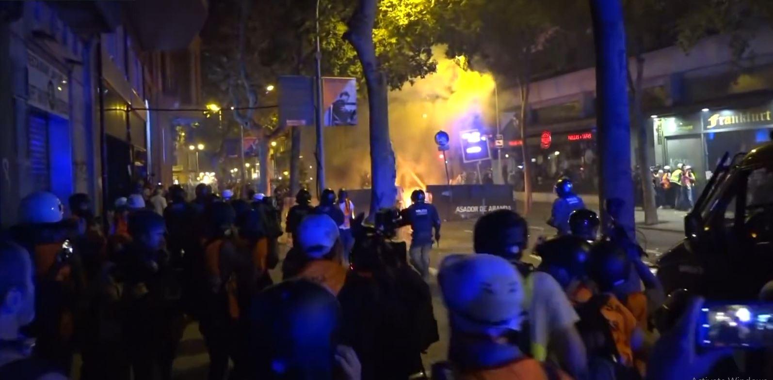 Barcelona nuk gjen qetësi nga protestat, 2.5 milion euro dëme nga demonstratat