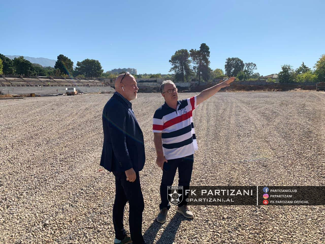 """""""Shtëpia e Kampionëve"""", Partizani zbulon ecurinë e punimeve"""