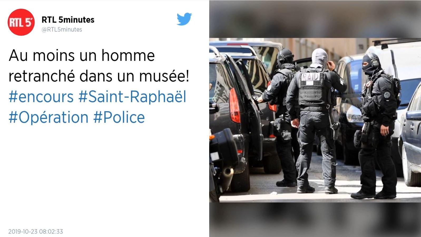 """Një person kërcënon muzeun arkeologjik """"Saint Raphael"""" në Francë"""