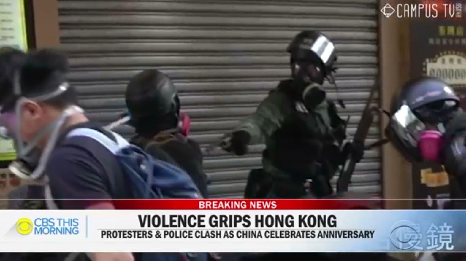 Hong Kong, policia përdor armë zjarri kundër protestuesve