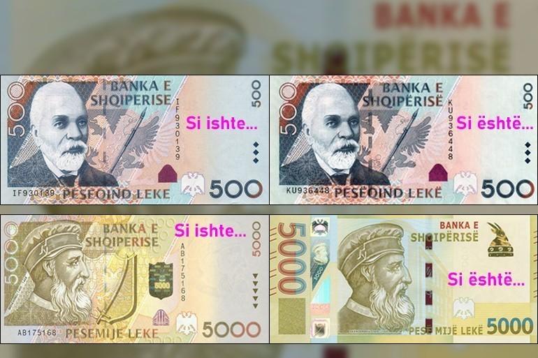FOTO/ Futen në përdorim kartmonedhat e reja: Çfarë ndodh me të vjetrat