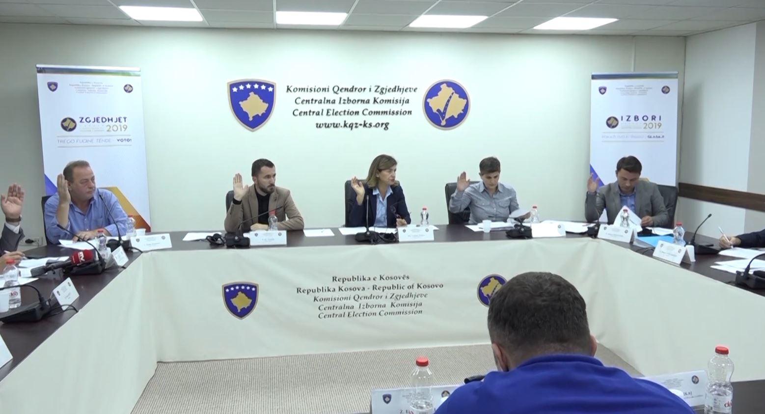 KQZ në Kosovë rinumëron mbi 50 % të vendvotimeve