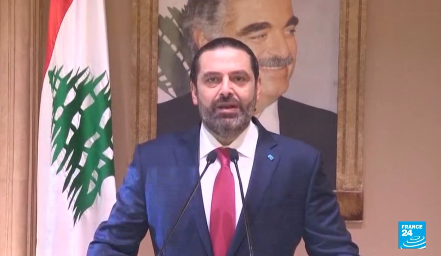 Protestë dhunshme në Liban, jep dorëheqjen kryeministri Saad Hariri