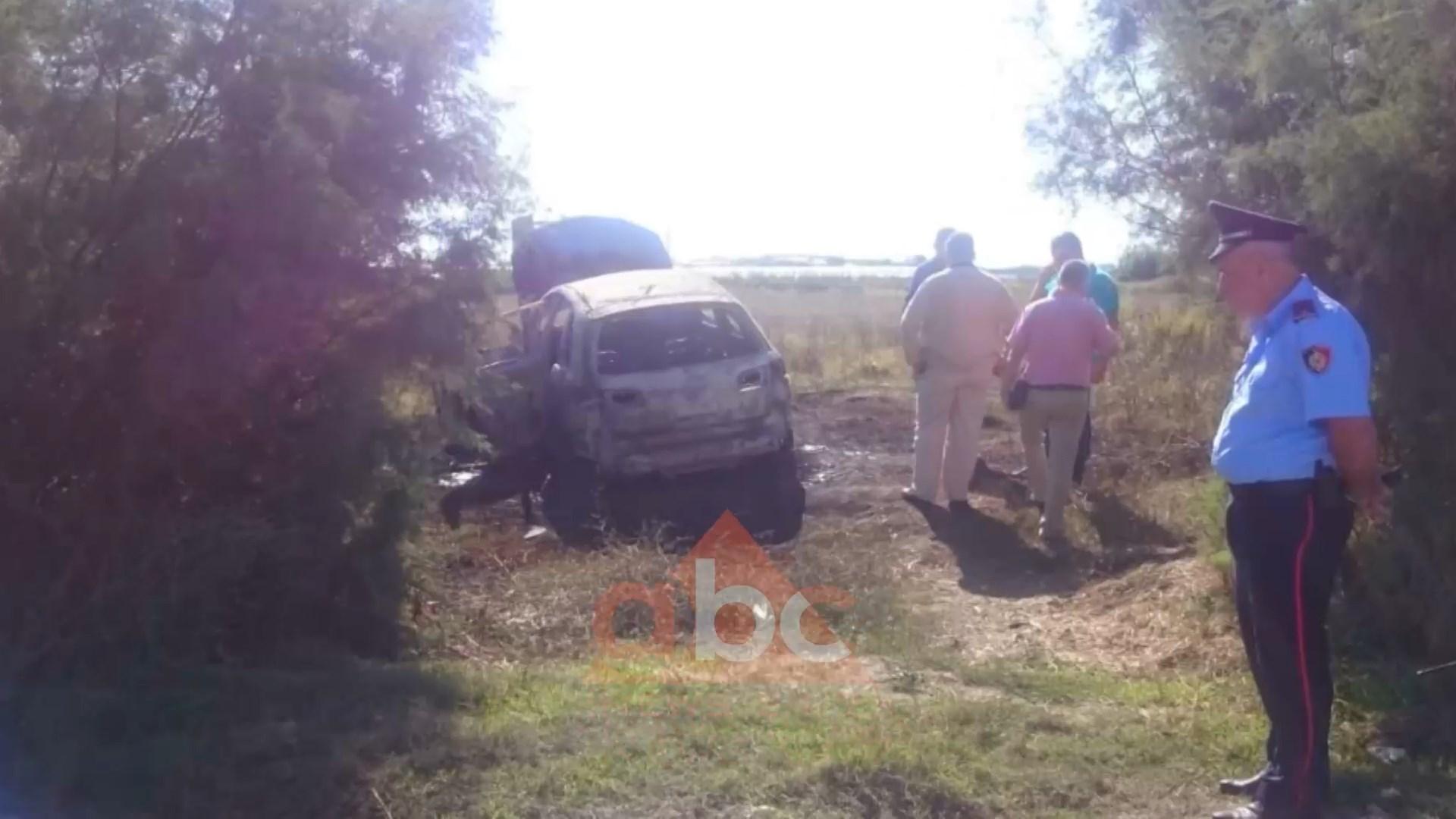 Gjendet makina e djegur e autorëve që ekzekutuan Besmir Hidën