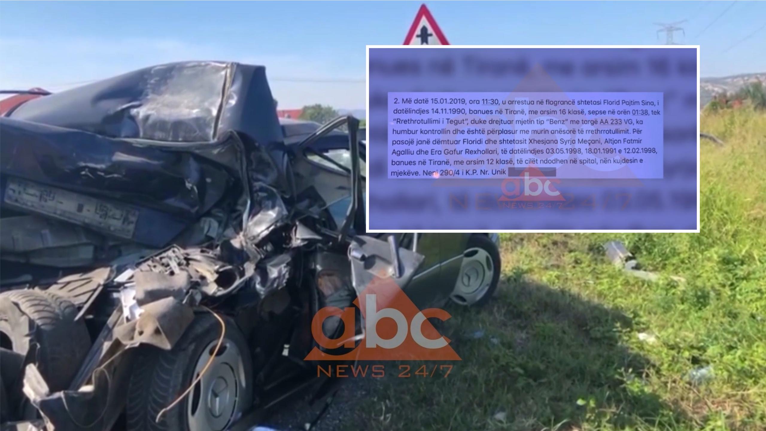 """EKSKLUZIVE/ Policia fsheh raportimin e aksidenteve me vdekje: Si u """"zhduk"""" ngjarja tragjike në Tiranë"""