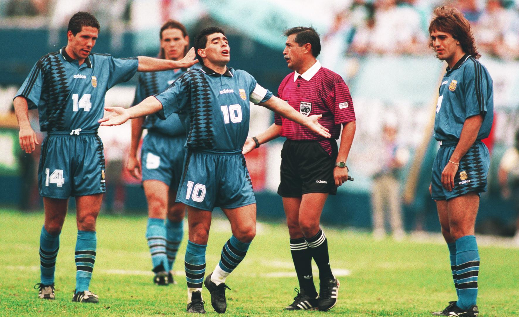 Videoja e rrallë, kur Maradona përgatitej për USA 1994