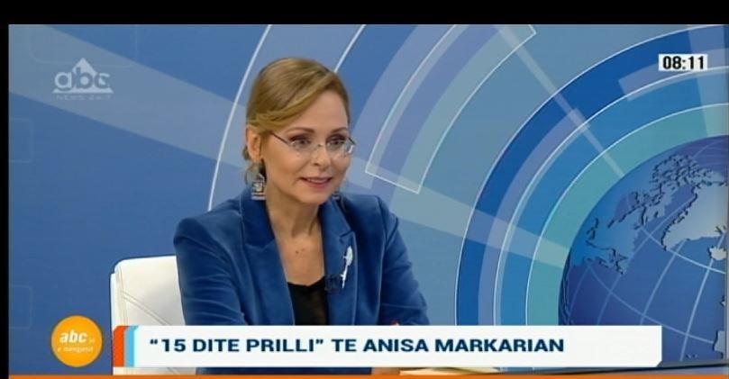 """""""15 ditë prilli"""" të Anisa Markarian: Detyrim moral për këdo që ka jetuar një diktaturë"""