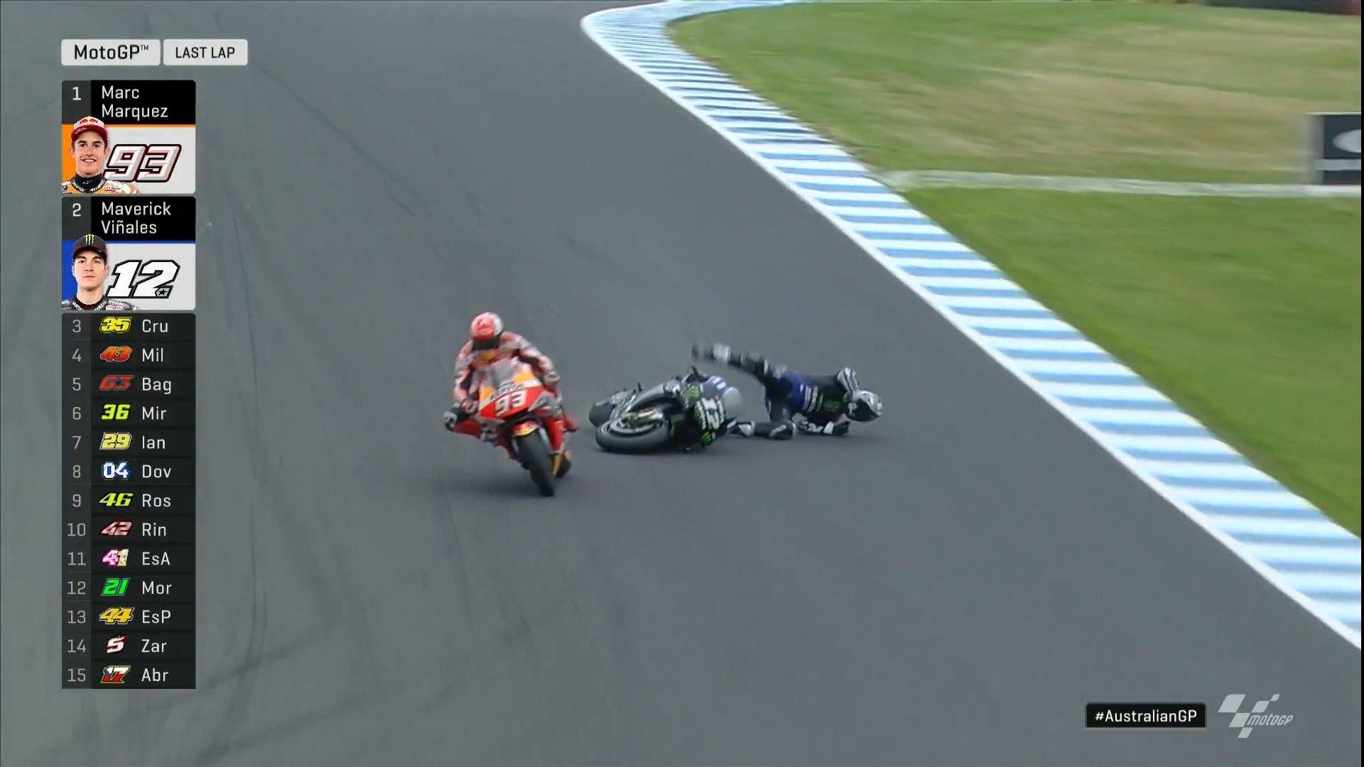 MotoGP/ Garë emocionuese, Marquez triumfon në frymën e fundit