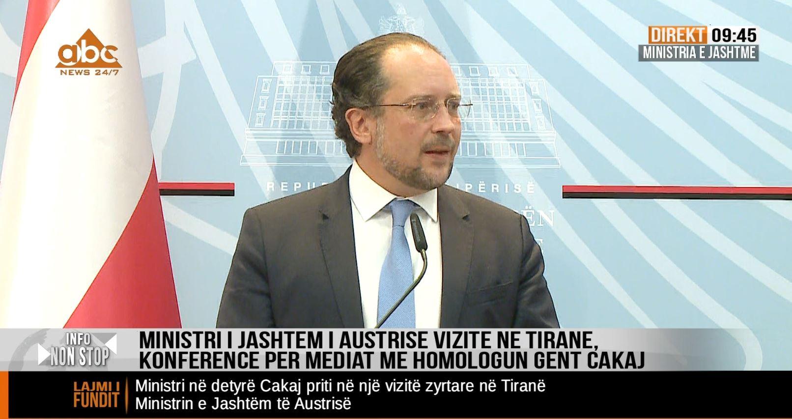 Negociatat | Ministri i jashtëm austriak: Pozicioni i Austrisë është i qartë