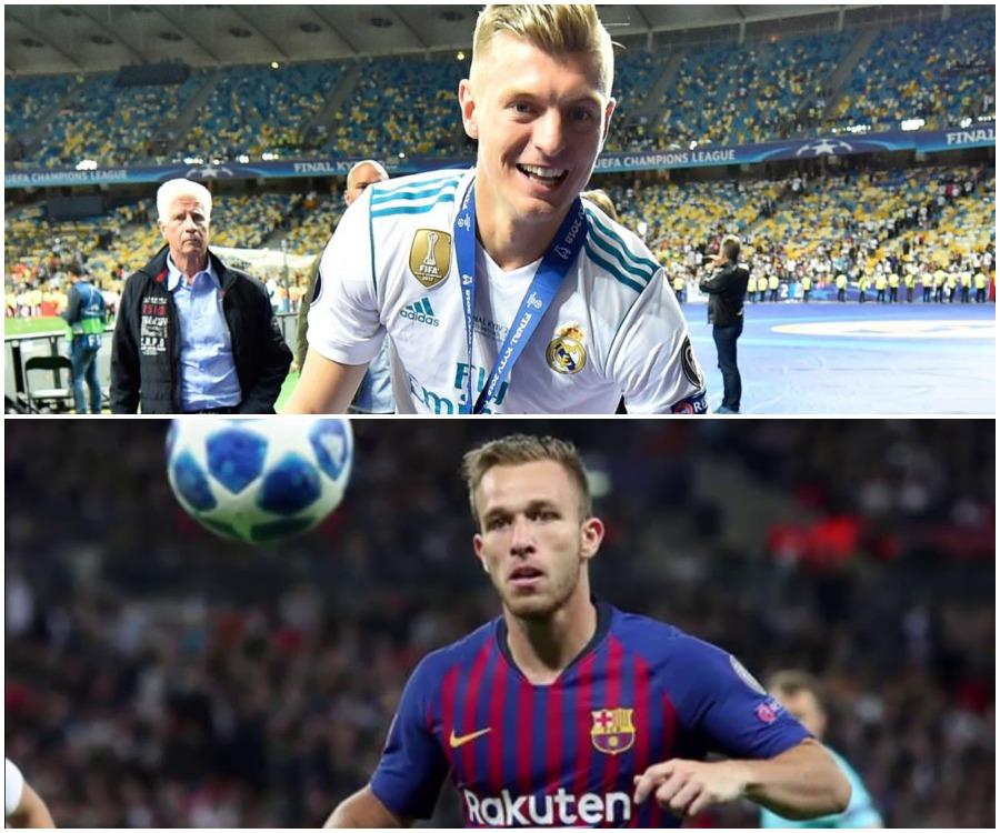 """""""Regjisorët"""" në Champions, Arthur dhe Kroos më të mirët!"""