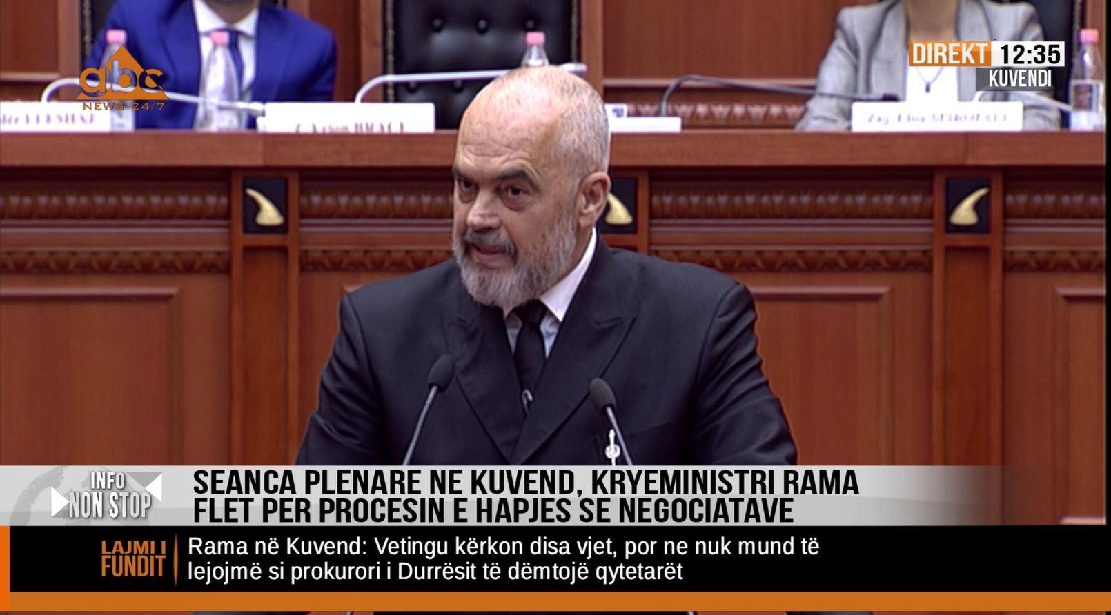 Rama akuza të forta: KÇK është grupi më i madh kriminal në Shqipëri
