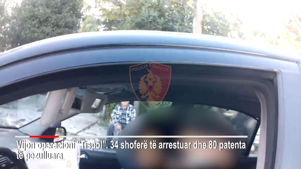 Kontroll në rrugët dytësore/ Arrestohen 34 shoferë, pezullohen 80 patenta