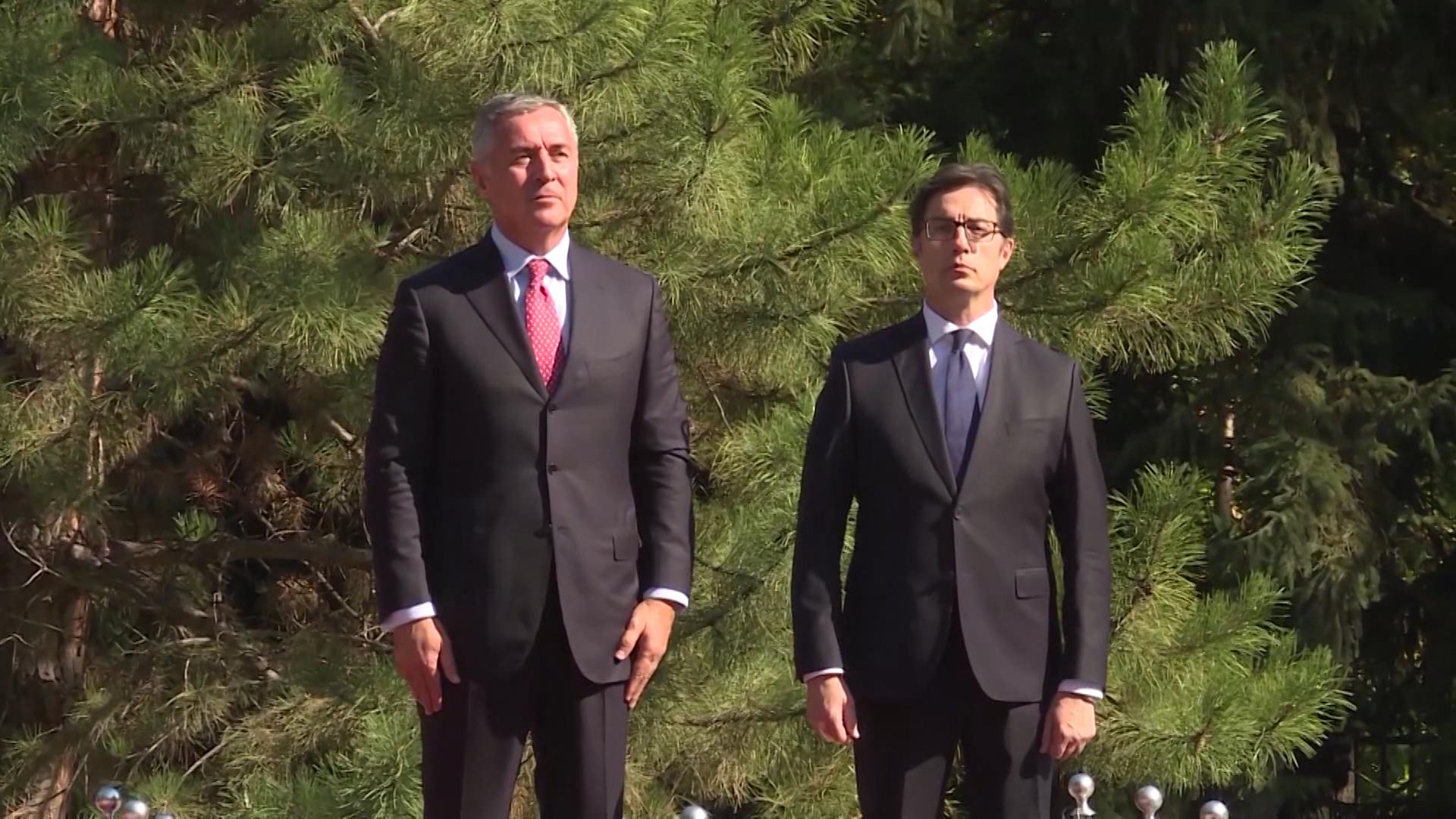 Gjukanoviç viziton Shkupin: RMV mësoi nga e kaluara, u anëtarësua në NATO