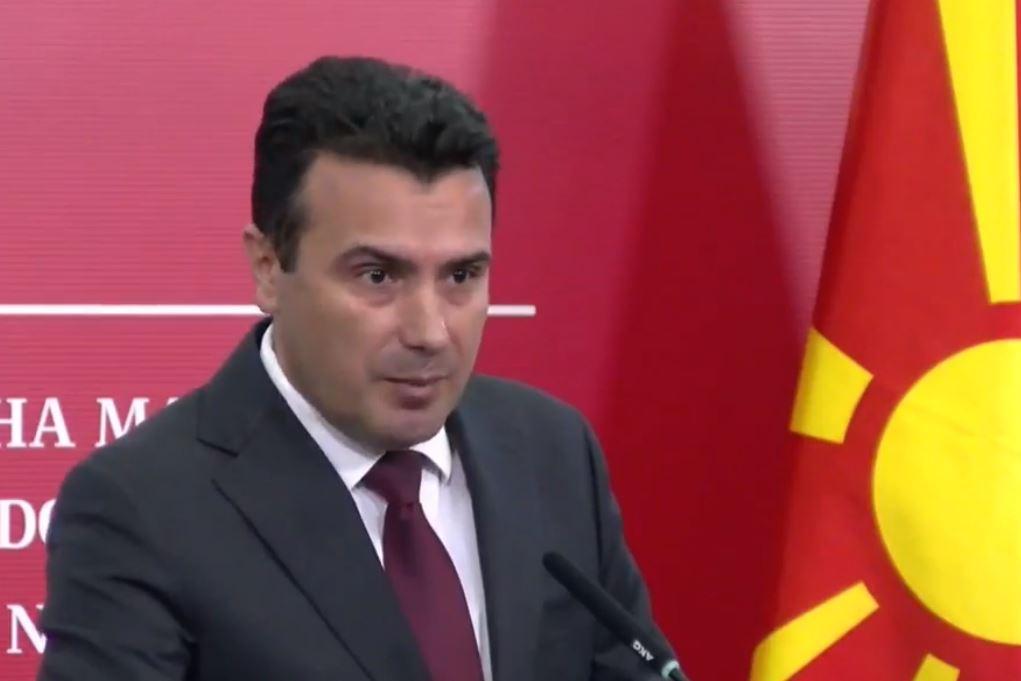 Zaev paralajmëron: Mos-hapja e negociatave rrezikon marrëveshjen e Prespës