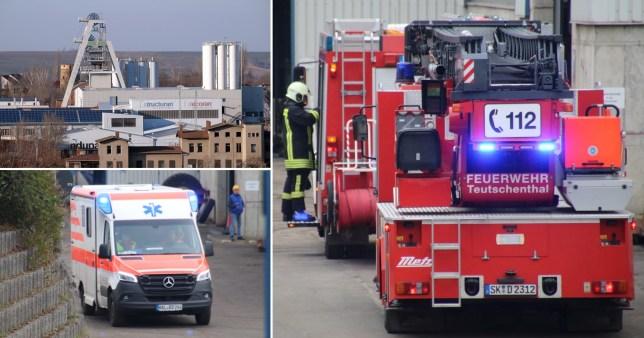 Shpërthimi i fuqishëm bllokon 35 punëtorë 700 metra nën tokë