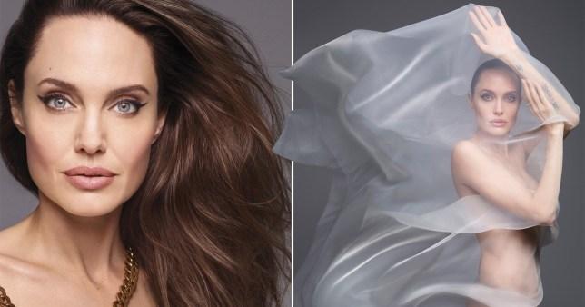 """""""Mos harroni të jeni vetvetja"""", Angelina Jolie sensuale dhe krenare pozon nudo"""