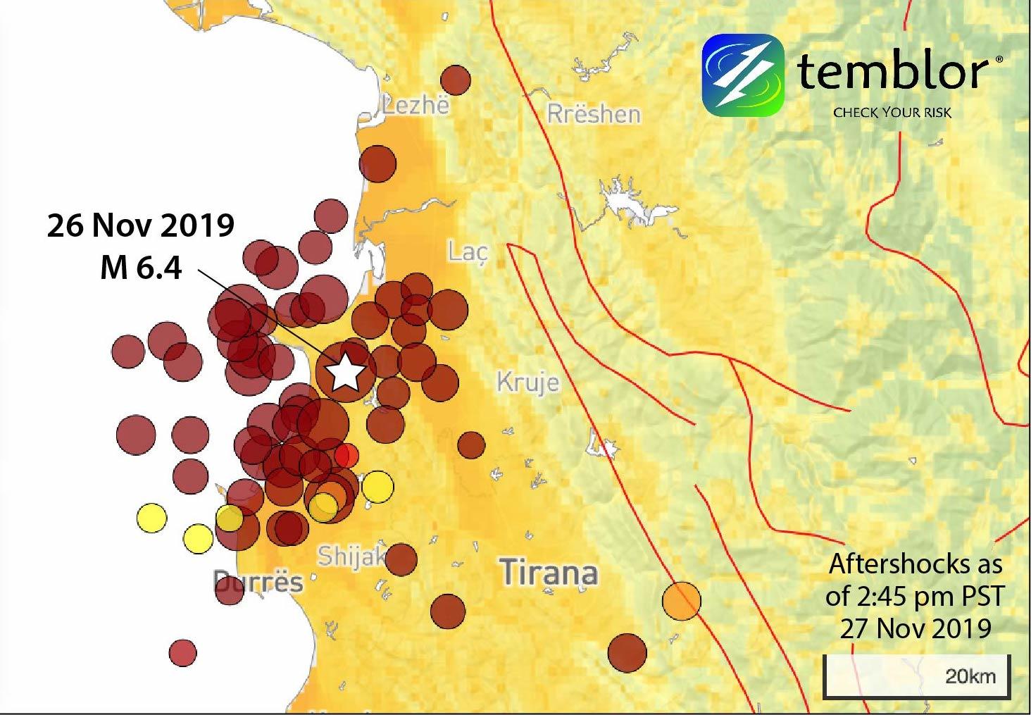 """""""Tërmetet vijnë si një kaskadë"""", sizmologu britanik thotë se i madhi shoqërohet nga të tjerë të vegjël"""