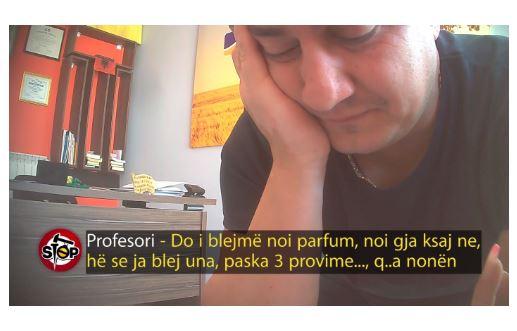"""""""Më jep një puthje se ma nxive jetën"""", pedagogu i video skandalit lirohet sot nga arresti"""