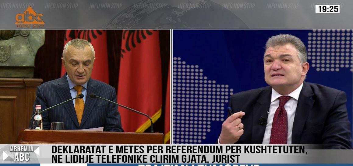 Thirrjet e presidentit për referendum, Gjata: Qëndresa e Metës e drejtë, ky regjim po shkatërron demokracinë
