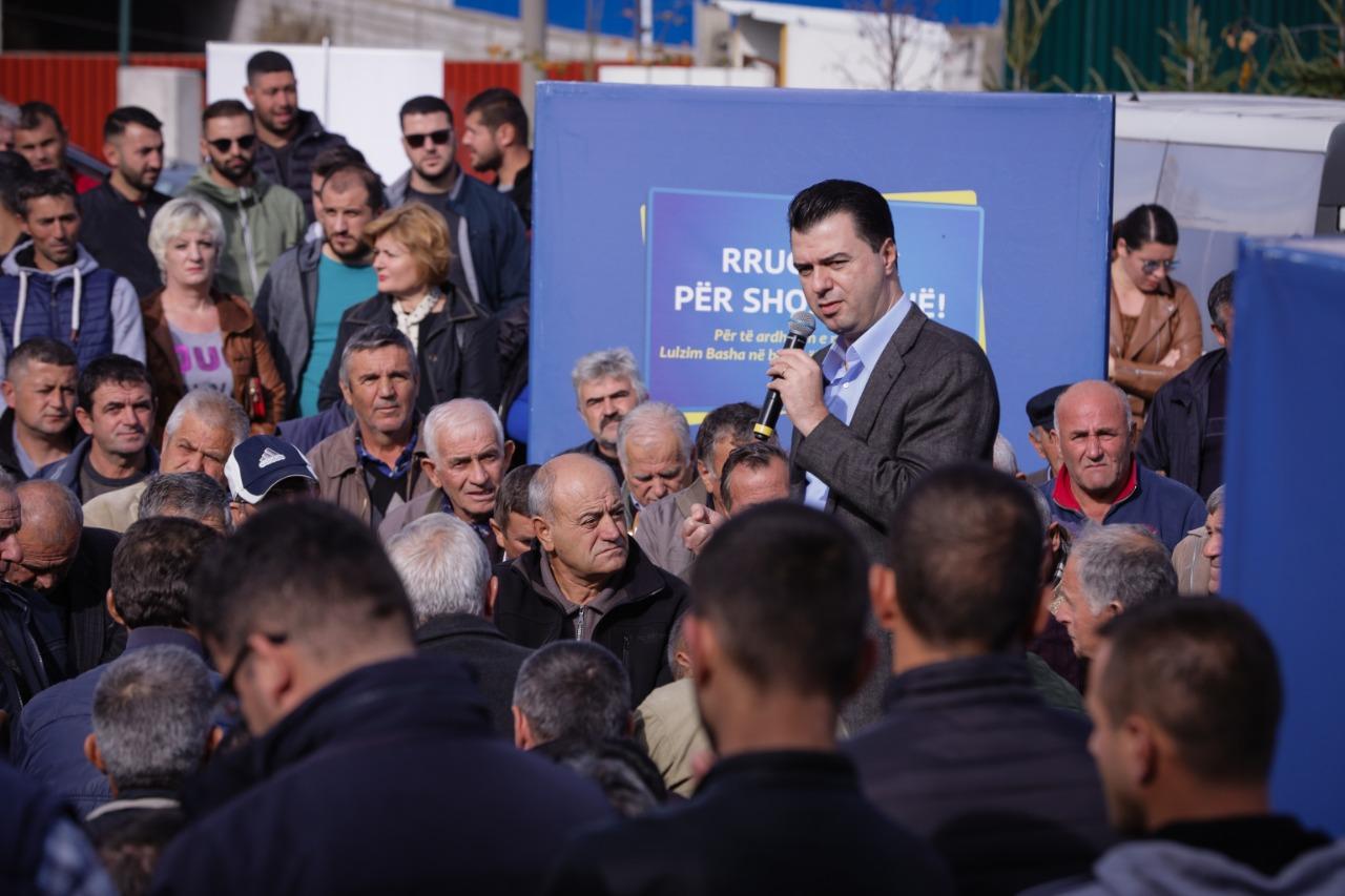 Basha: E gjithë Shqipëria punon për një kalçeto me oligarkë të Edi Ramës