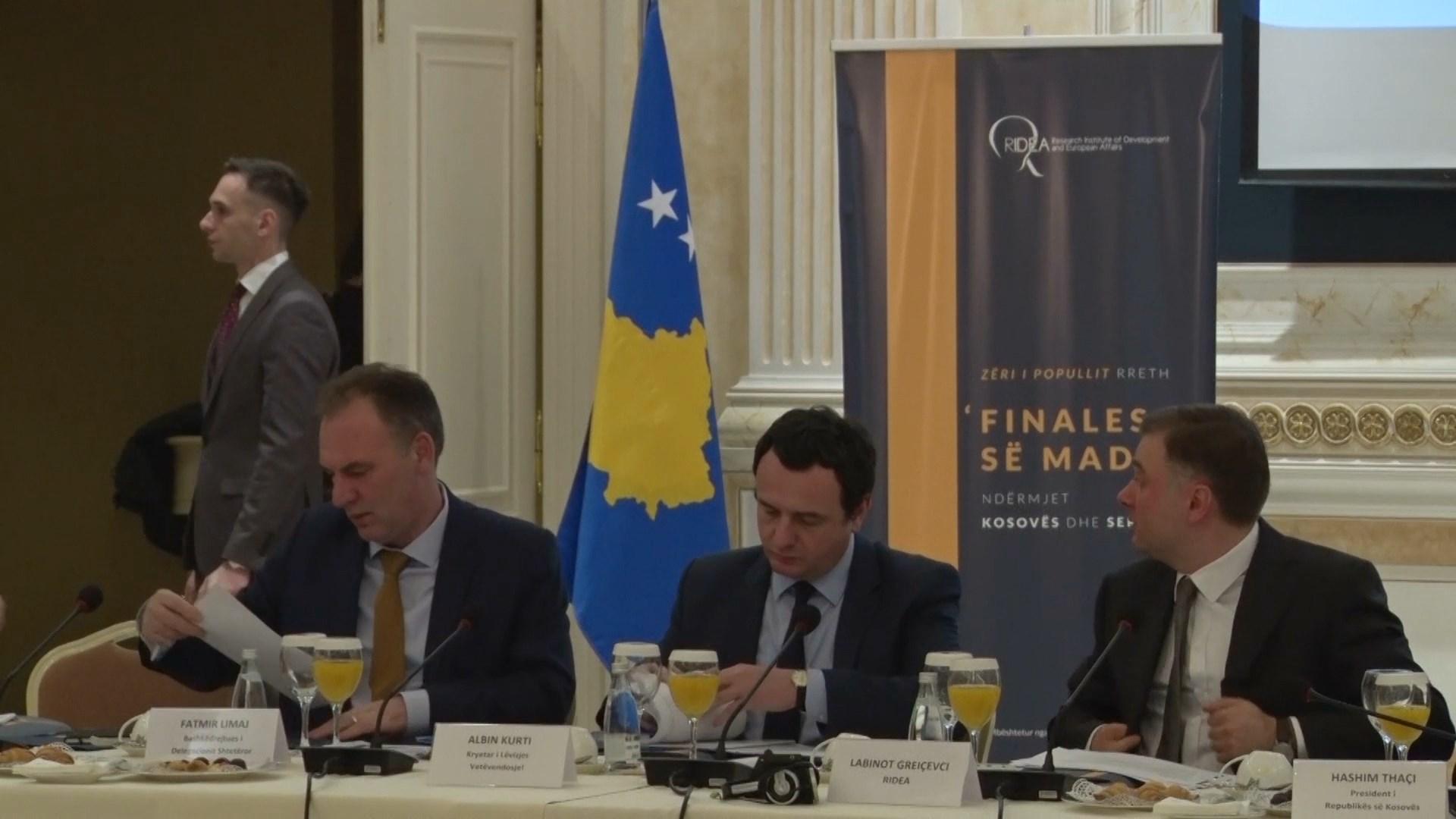 Takimi i Ohrit për minishengenin, Kurti: I nxituar, Shqipëria duhet t'i nisë me Kosovën projekte të tilla