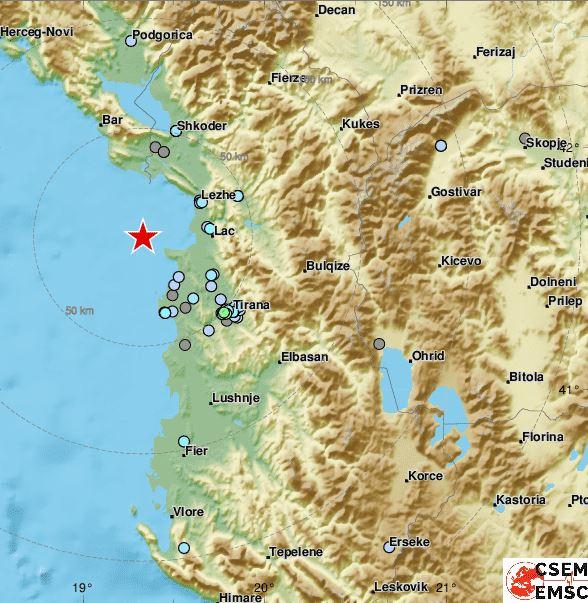 Qendra Sizmiologjike Europiane: Kurrë s'kemi parë një shkallë kaq të lartë të tërmeteve në këtë rajon