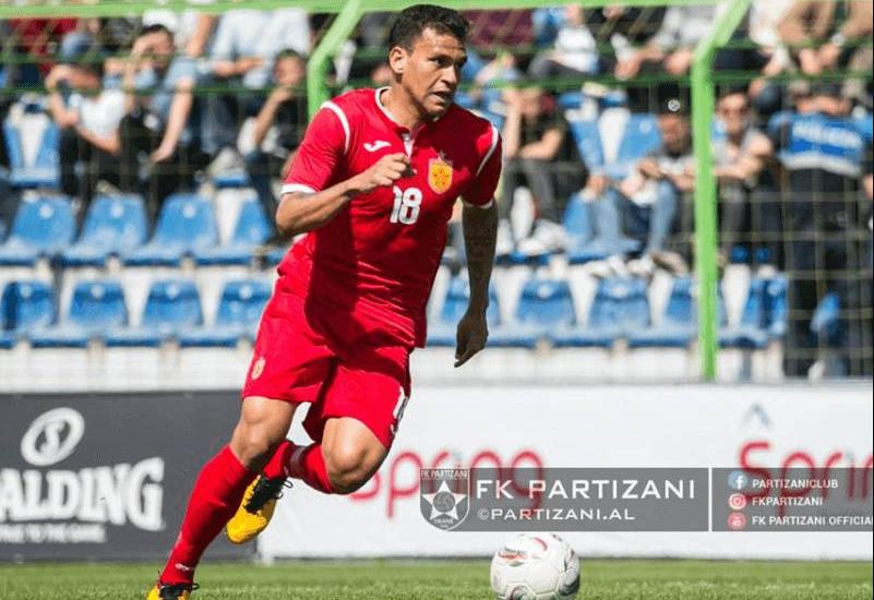 U huazua nga Partizani, sulmuesi brazilian e mbyll me Dritën