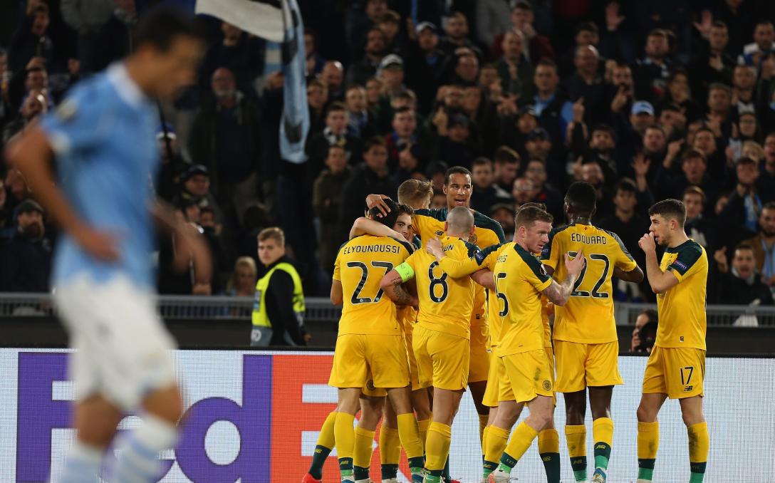 VIDEO   Celtic tjetër shuplakë Lazios, Xhaka dhe Zhegrova kualifikohen
