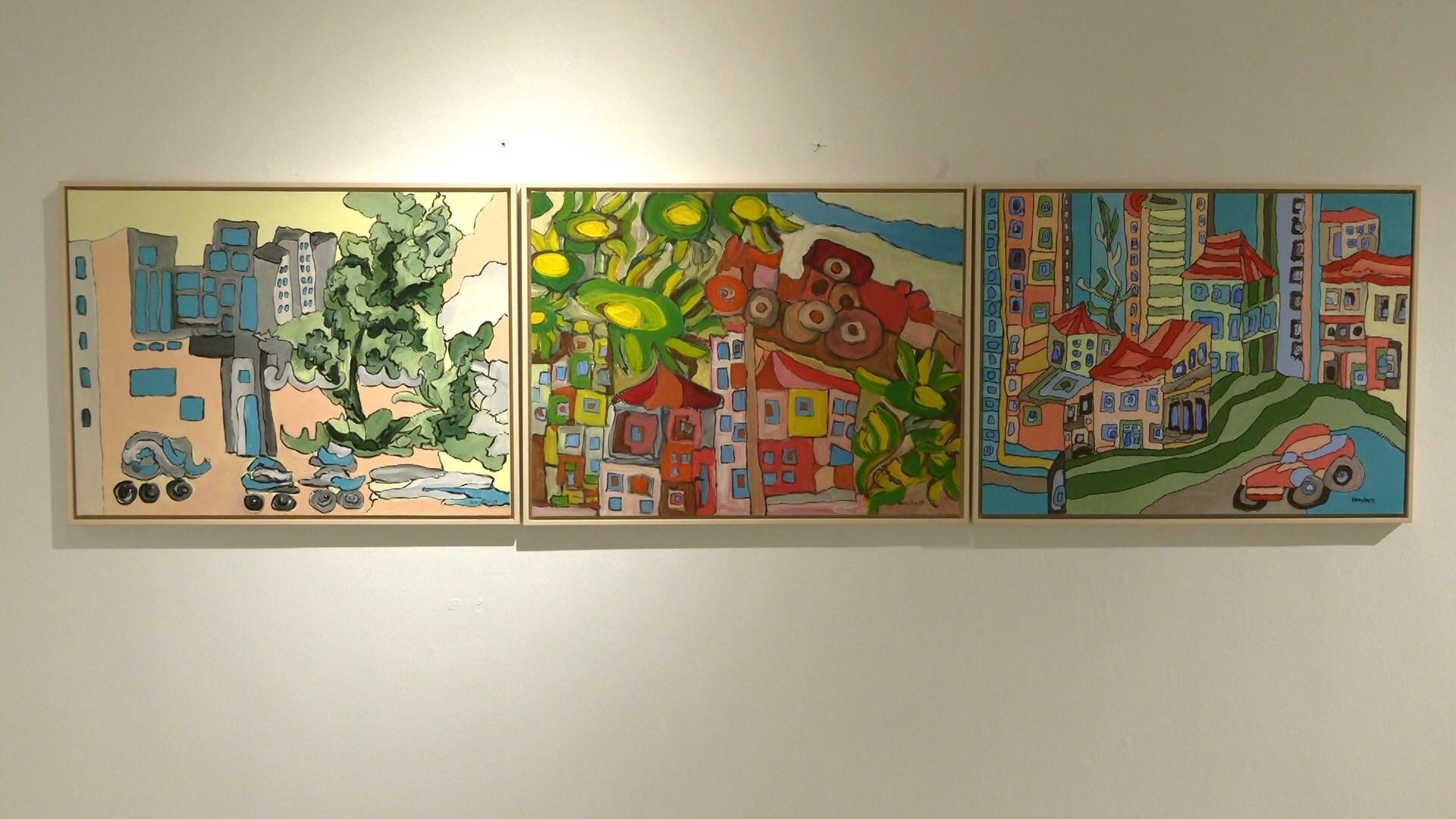 Emra të njohur të artit pamor vijnë me shqetësimet social-politike në ekspozitë
