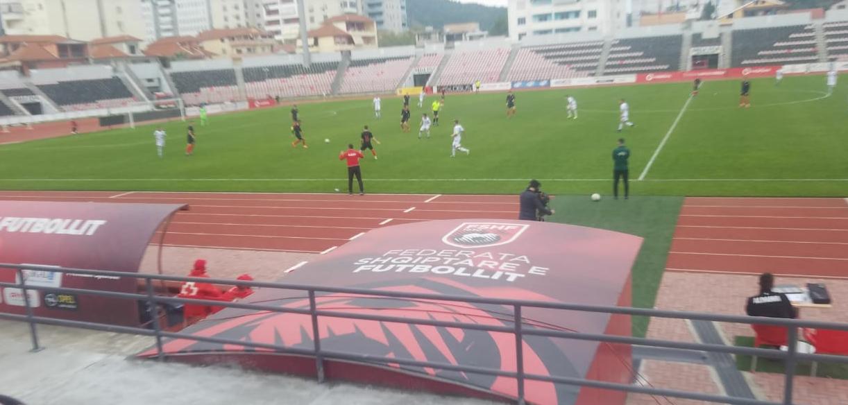 Ndeshje pa emocione në Elbasan, Shqipëria U20 thyhet në fund