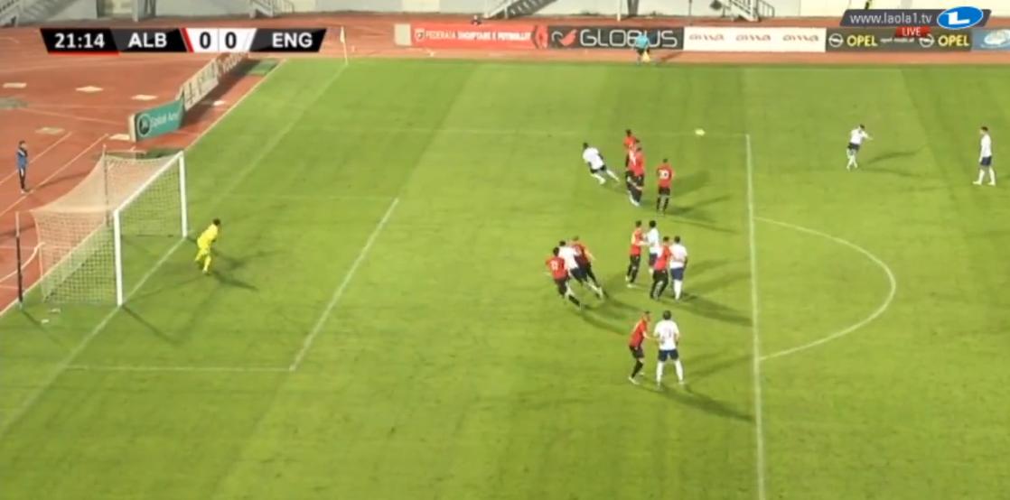 VIDEO | Supergol, ylli i City ndëshkon Shqipërinë U-21