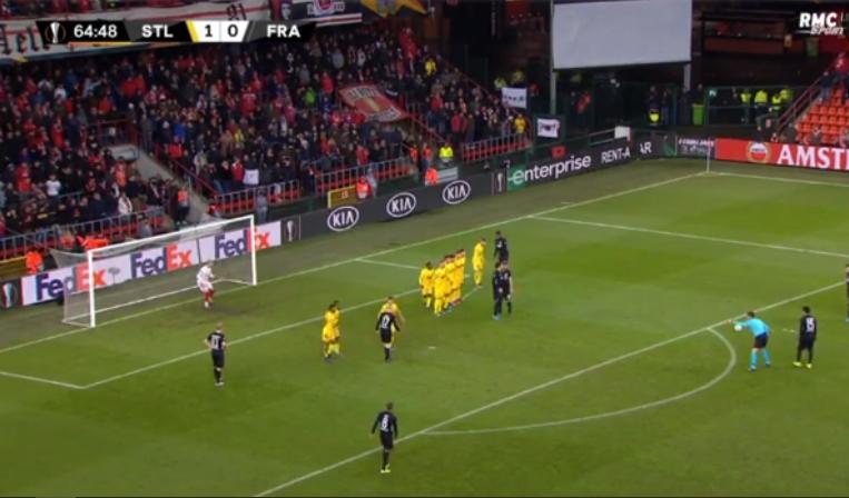 VIDEO   Dy gola në pak minuta, Frankfurt nuk dorëzohet në Belgjikë!