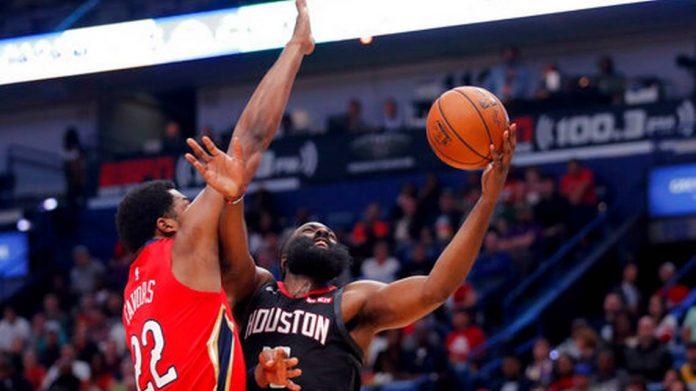 "NBA/ Harden ""bishë"", Rockets ""kafshojnë"" New Orleans Pelicans"
