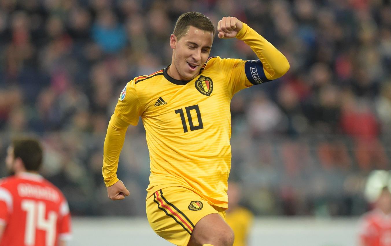 """Belgjika """"fluturon"""" me Hazard, çfarë statistikash fantastike!"""