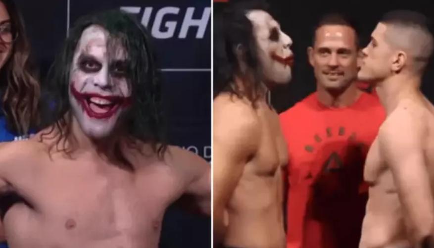 VIDEO | E rrallë, luftëtari i UFC imiton Joker-in!