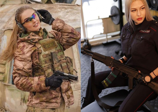 Mami 31-vjeçare, kush është biondja bukuroshe që ruan Putinin