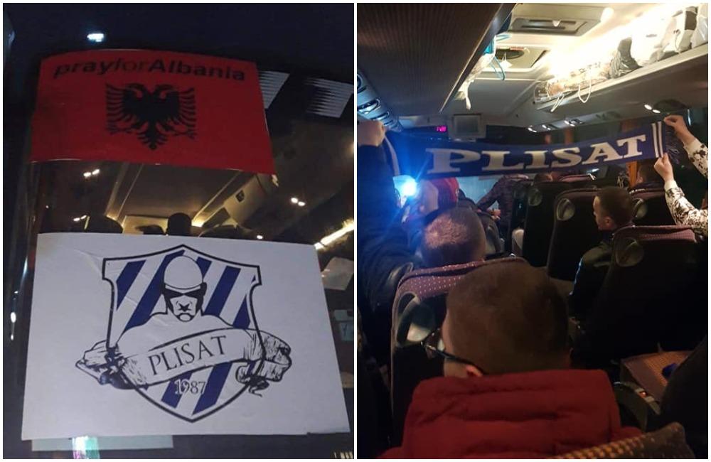 Autobusi i parë i Plisave niset drejt Durrësit