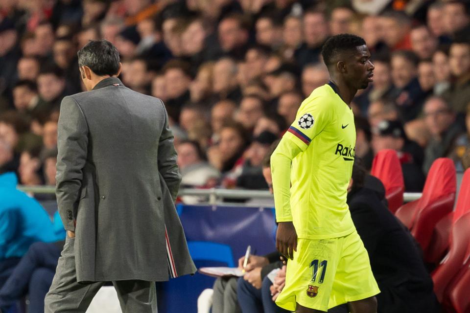 Dëmtimi i radhës i Dembele, Valverde humbet durimin