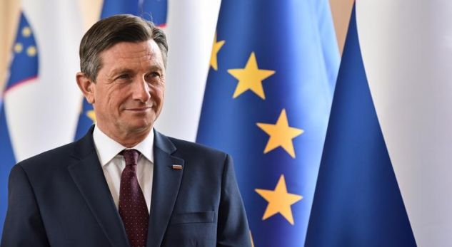 Presidenti i sllovenisë mesazh Metës: Solidaritet me popullin shqiptar