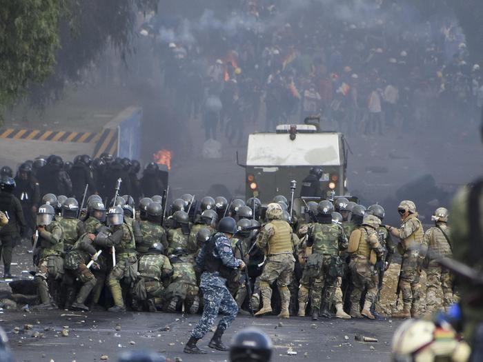 Përleshje në Bolivi, 8 të vdekur dhe 75 të plagosur