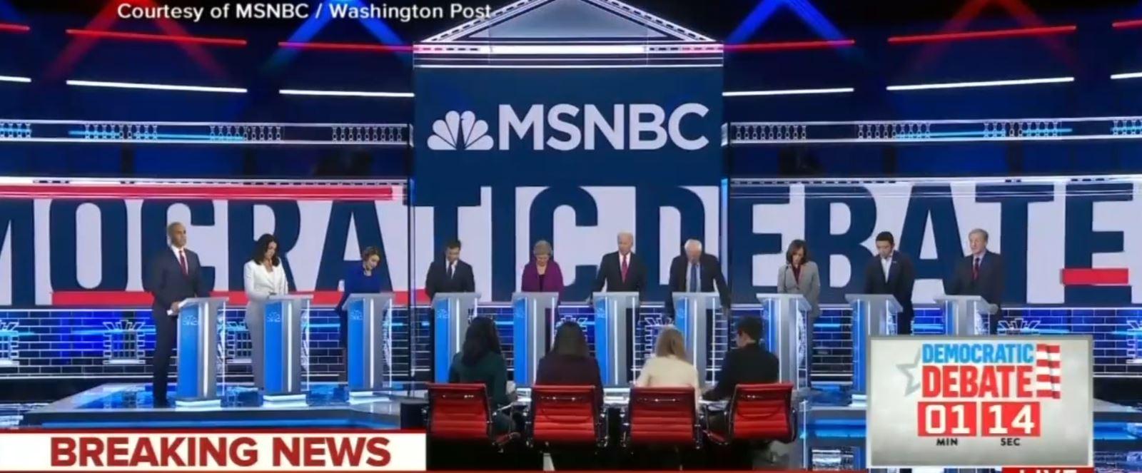 Debati mes kandidatëve demokratë për Presidencialet 2020: Të gjithë kundër Trump