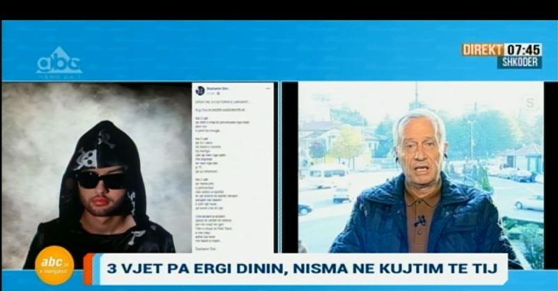Nisma e veçantë e babait të Ergi Dinit në 3-vjetorin e humbjes së këngëtarit: Jeta ime është tmerr