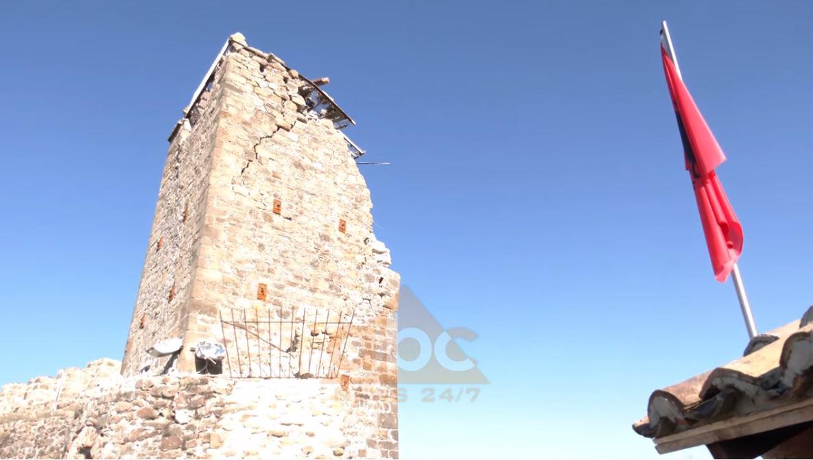 Tërmeti rrënon kalanë e shekullit të V-të në Durrës
